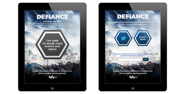 Syfy - Defiance Container Village